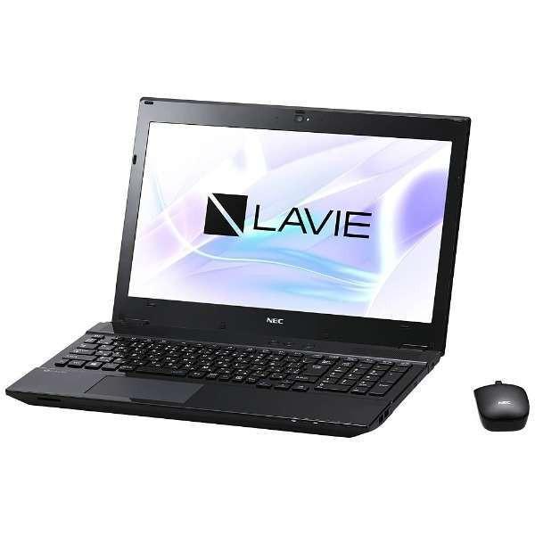 クリスタルブラック NEC PC-NS350HAB [ノートパソコン15.6型ワイド HDD1TB ブルーレイドライブ] 【送料無料】 LAVIE Note Standard