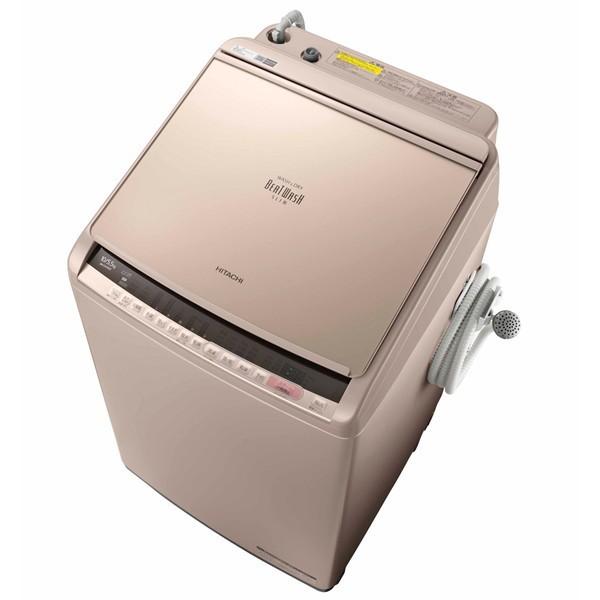 国産品 BW-DV100C [洗濯乾燥機(10.0kg)] ビートウォッシュ 日立 シャンパン-洗濯機