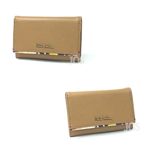 ポールスミス 財布 メンズ レディース Paul Smith フラワーポイント カードケース 全2色