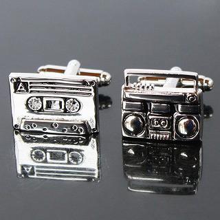 ラジカセ&カセットテープカフス