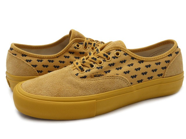 111cd2097a3956 VANS SYNDICATE x WTAPS(ダブルタップス) AUTHENTIC S (オーセンティック) YELLOW 591-