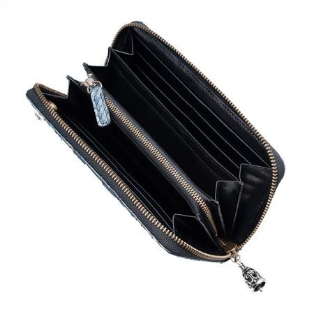 Bizarre ビザール 財布 メンズ レディース マジェスティックパイソンラウンドジップロングウォレット メタリック lwp037mt 送料無料