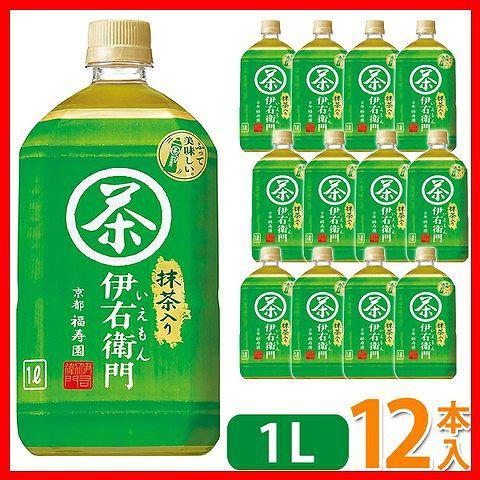サントリー 伊右衛門 緑茶 1L×12本 [プラザセレクト] 送料無料