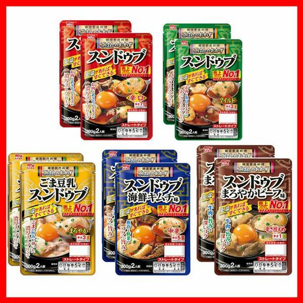 スンドゥブ食べ比べ5種10パック入り 丸大食品 [代引不可] プラザセレクト