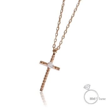 57905be9381f74 me. ダイヤ/クロスネックレス 【ネックレス】【necklace】【首飾り ...