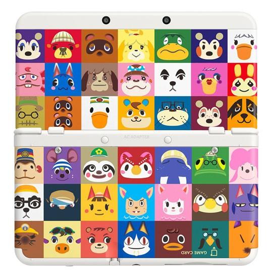 任天堂■New 3DS きせかえプレートパック どうぶつの森■未開封【即納】≪ゲーム機 Newニンテンドー3DS≫