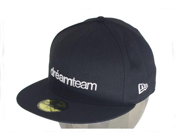 ドリームチーム DJ RYOW プロデュース 【dreamteam.jp】 NEW ERA FITTED CAP バック海外での?正の字?で?10?デザインキャップ メンズ