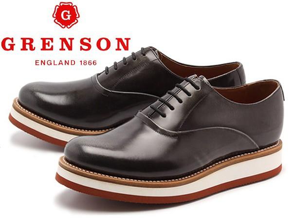 品質保証 訳あり品 UK8.0 グレンソン ローカット サミー 5284 男性用 グレー グレンソン 27.0cm UK8.0 GRENSON SAMMY メンズ ストレートチップ ローカット 短靴(g005), Bernadette:d7865ec7 --- buergerverein-machern-mitte.de