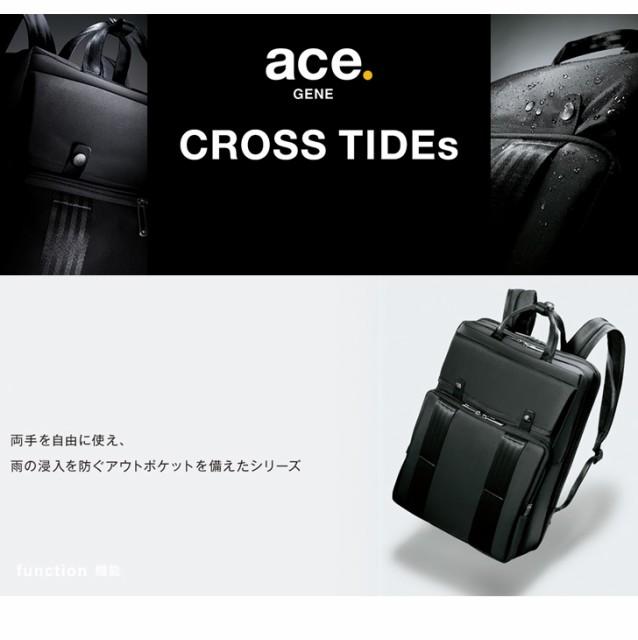 送料無料 ace GENE CROSS TIDEs ショルダーバッグ 6L 54672 エース クロスタイドs ショルダーバッグ