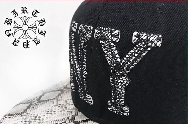 【帽子95黒】ロゴ刺繍キャップ/蛇柄■パイソン悪羅悪羅系オラオラ系 ヤンキーチンピラちょい悪チョイワルヤクザ メンナク派手B系HIPHOP N