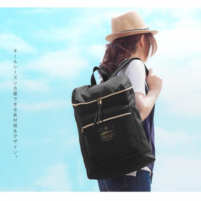 送料無料 リュックサック デイパック レディースバッグ おしゃれ 大人 A4サイズ 軽量 通学通勤 高校生 黒 r006