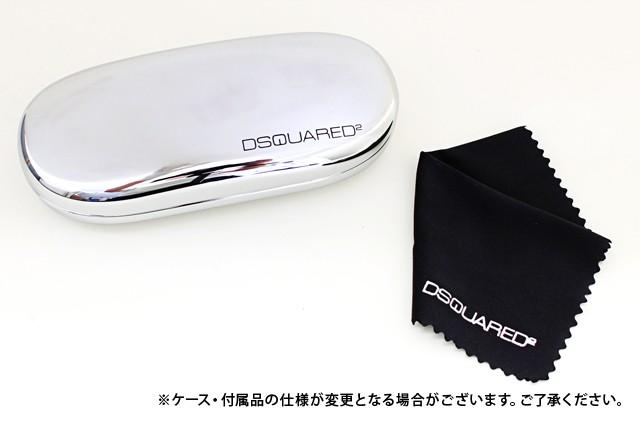 ディースクエアード 伊達眼鏡 DSQUARED2 DQ5006 048 51 ブラウン/クリア 人気 ブランド ファッション アイウェア メガネ 眼鏡 オシャレ