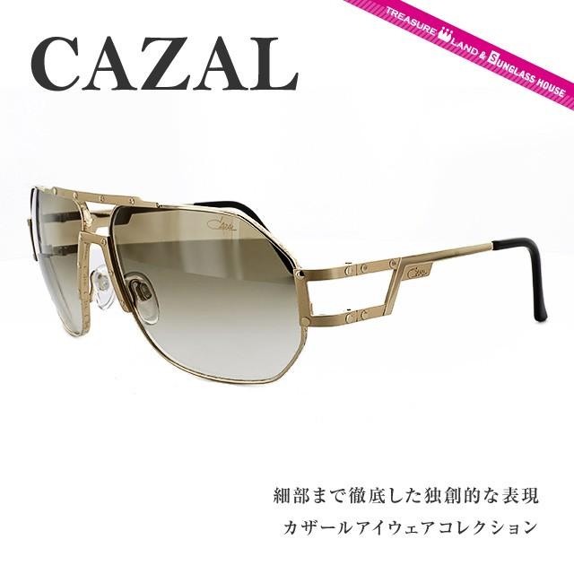 カザール サングラス CAZAL MOD.9054 C003 63 ゴールド/ブラウングラデーション 人気 ブランド ファッション オシャレ アイウェア