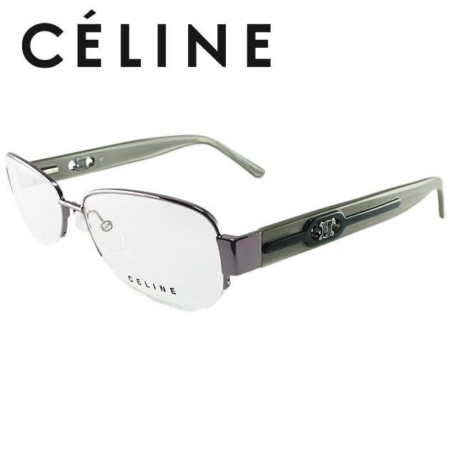 セリーヌ 伊達眼鏡 CELINE VC1408M 55サイズ 0S57 人気 眼鏡 メガネ ブランド ファッション オシャレ アイウェア