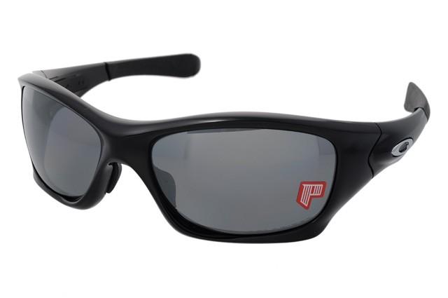 送料無料 オークリー サングラス OAKLEY PIT BULL oo9161-06 Polished Black/Black Iridium Polarized 偏光 人気 ブランド スポーツ ファ