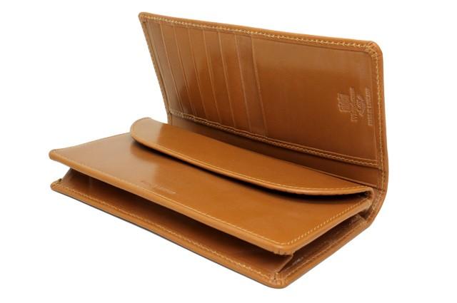 ホワイトハウスコックス Whitehouse cox 財布 S8819 BRIDLE NEWTON ブラウン 長財布 ブライドルレザー