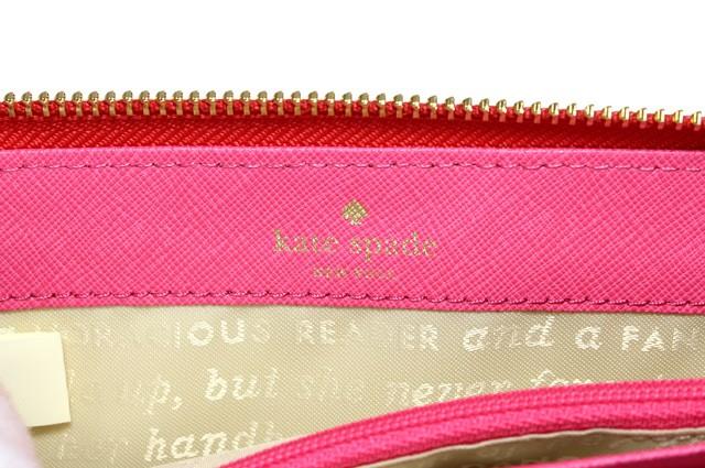 ケイトスペード 財布 KATE SPADE ケイト スペード 長財布 ケイト・スペード PWRU4236-683 LILY AVENUE SERAFINA レッド系 geranium 人気