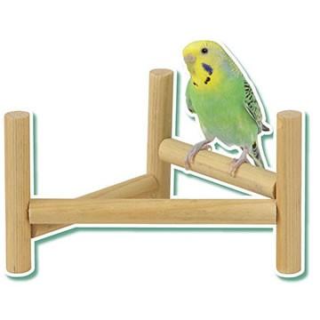 小鳥のホップステップ パーチ/小鳥用スタンドパーチ 小鳥 文鳥 セキセイインコ オカメ とまり木 サンコー 三晃 SANKO