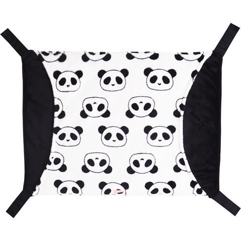 レインボー ワイドなパンダのハンモック/フェレット 寝床 コットン 秋冬 もぐれる Rainbow レインボー