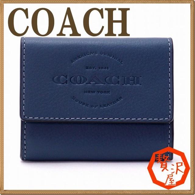 de6a2c6e472a コーチ COACH 財布 メンズ コインケース 小銭入れ カードケース 24652DEN【tem_b】【tem_new