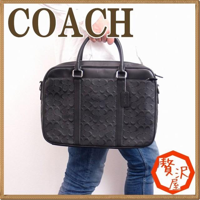 26b7df5ba551 コーチ COACH バッグ メンズ ビジネスバッグ ブリーフケース トートバッグ 2way 斜めがけ ショルダーバッグ 72230BLK