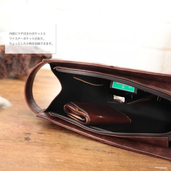 ★送料無料★ セカンドバッグ メンズ 本革 レザー クラッチバッグ 鞄 バッグ 人気 プレゼント DIABLO (2色) 【KA-2503】