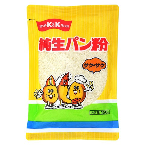 K&K 純生 パン粉 サクサク 150g