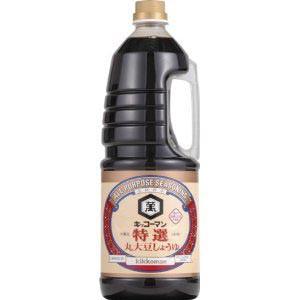 キッコーマン 特選丸大豆 しょうゆ 1.8L