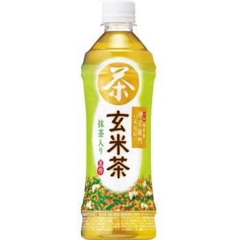 サントリー 緑茶 伊右衛門 玄米茶 ペット500ml1箱24本