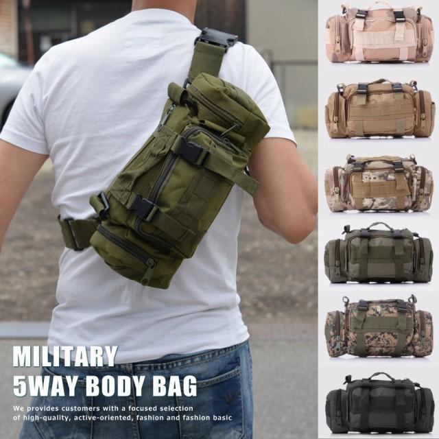 5WAY ボディバッグ メンズ 7999489 Military【ALI】■05160721