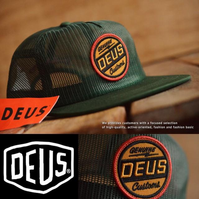 120%正規 Deus ex Machina デウス エクス マキナ メッシュキャップ メンズ レディース 帽子 野球帽 DMP77454■05170413