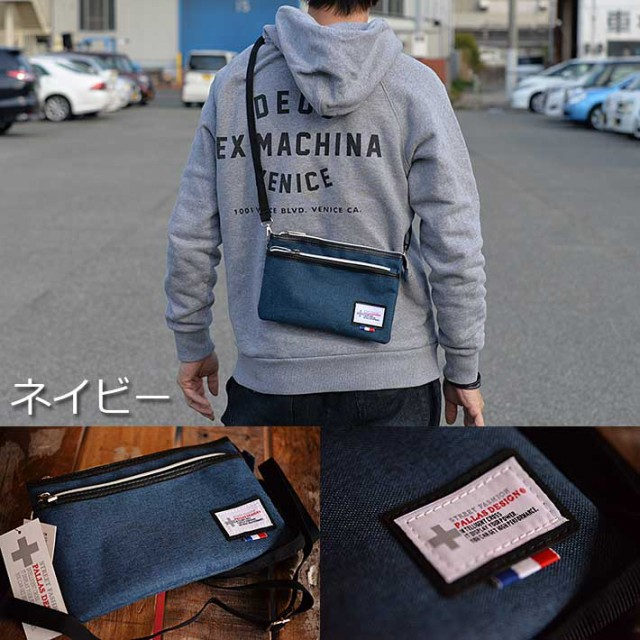 Relife 多ポケット サコッシュ バッグ ショルダーバッグ メンズ レディース 軽量 9155【MIK】■180319