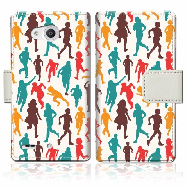 Qua phone PX LGV33 手帳型 ケース カバー lgv33 手帳ケース 手帳カバー【Peopleデザイン】
