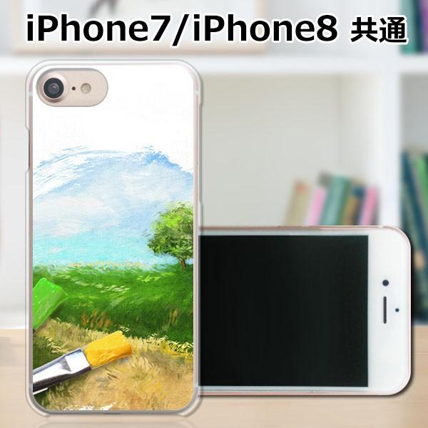 apple iPhone7 TPUケース/カバー 【絵筆を取って TPUソフトカバー】 iphone7 スマートフォンカバー・ジャケット