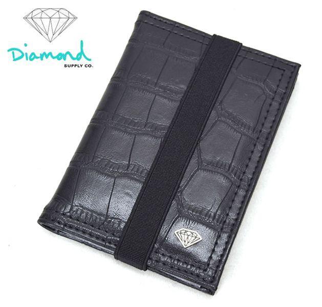 パスケース カードケース 大容量 蛇柄 ワニ柄 ストリート系 スケーター B系ファッション Diamond supply ダイヤモンドサプライ