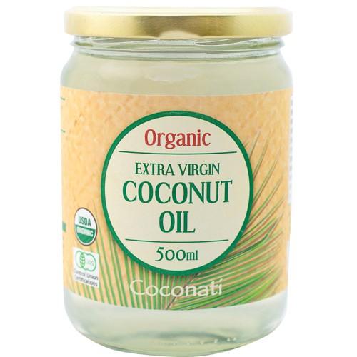 オーガニック エクストラバージンココナッツオイル ココナッツティ 500ml ラウリン酸50%以上配合