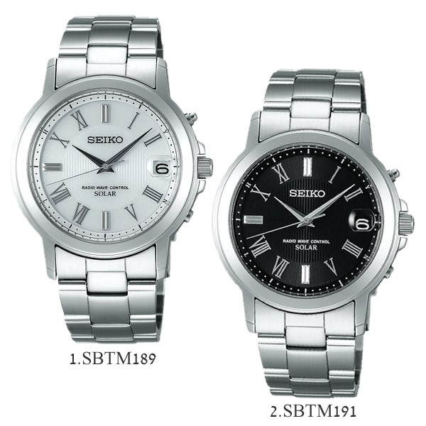8652d9db30 【送料無料】【SEIKO SPIRIT】 セイコー スピリット ソーラー電波腕時計 メンズ メタル 10
