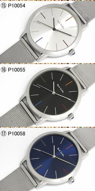 36361af8d7fe 【送料無料】ポールスミス Paul Smith 腕時計 メンズ 革ベルト Track 42mm 本革