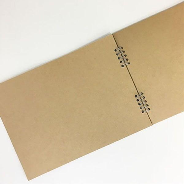 ダブルリングスクラップブック 横型 20枚