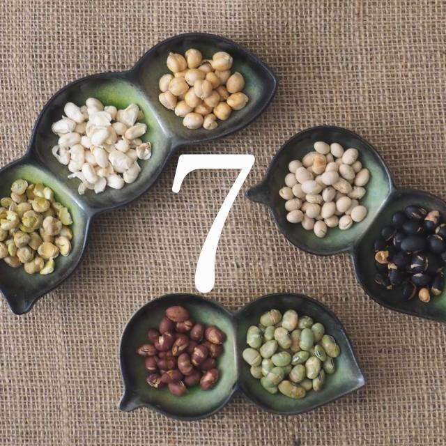 【送料無料】ななつのミックス煎り豆そのまま大豆の栄養をサクサク食べれる無添加ヘルシーな焙煎