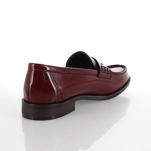 ハルタ レディース レザーカジュアルコインローファー HARUTA 230 レッド 靴 婦人靴 本革 2E 日本製