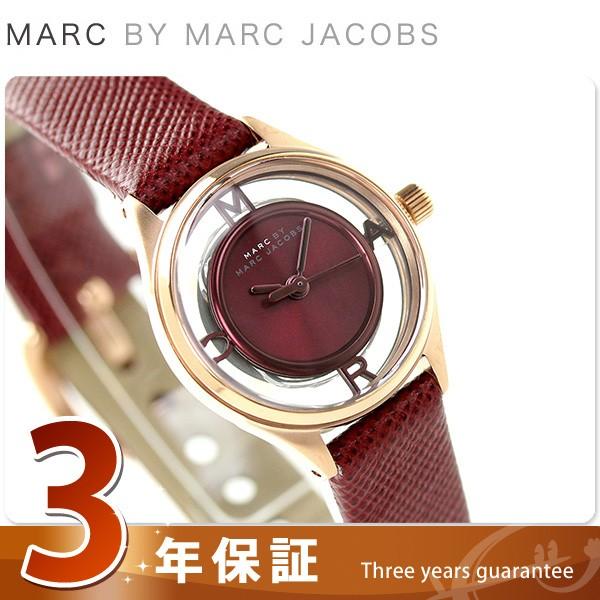 腕時計 バイ マーク ジェイコブス マーク ティザー ワインレッド 25 MBM1382 MARC by MARC JACOBS