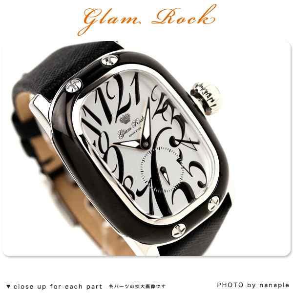 グラムロック 時計 glam rock モノグラム monogram レクタンギュラー