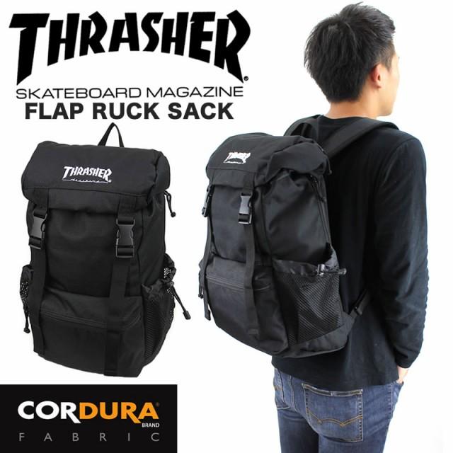 THRASHER(スラッシャー) フラップリュック デイパック バックパック 18L B4 PC収納 TH-04 THRCD502 メンズ レディース 送料無料