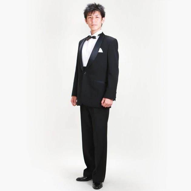 b28dd04b1c743 タキシード レンタル 黒タキシード 新郎 父 NT-07 往復送料無料 の ...
