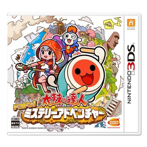 太鼓の達人 ドコドン ミステリーアドベンチャー 3DS ソフト CTR-P-BT8J / 中古 ゲーム