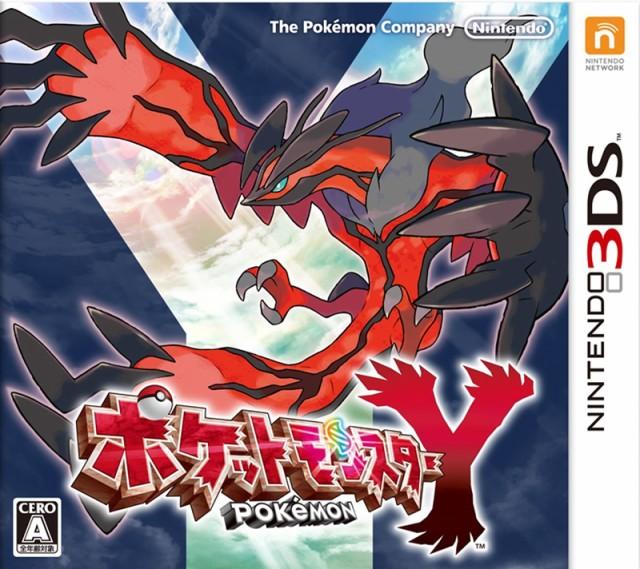 ポケットモンスターY 3DS ソフト CTR-P-EK2J / 中古 ゲーム