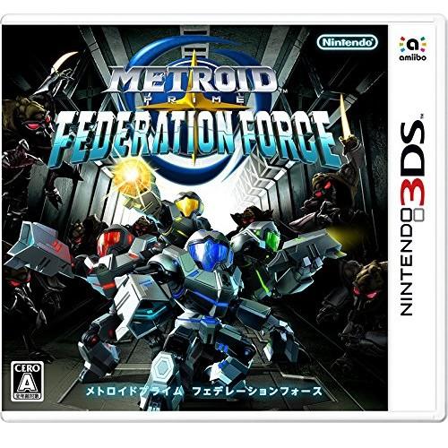 メトロイドプライム フェデレーションフォース 3DS ソフト CTR-P-BCAJ / 中古 ゲーム