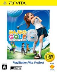 みんなのGOLF6 『廉価版』 PSVita ソフト VCJS-20002 / 中古 ゲーム