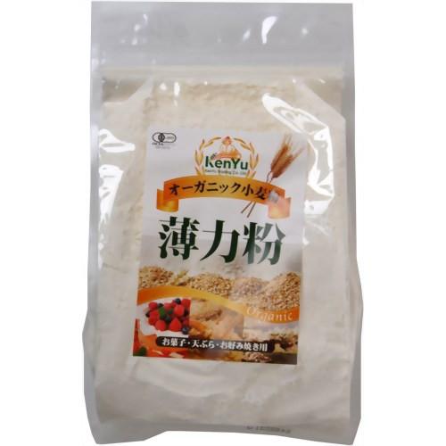 オーガニック小麦粉 薄力粉 500g